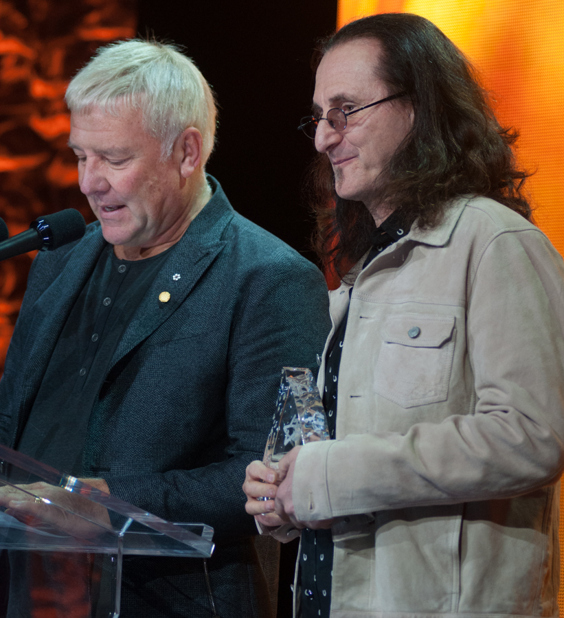 CMW 2017 - Canadian Music Week 2017 - CMBIA - Canadian Music and Broadcast Awards - Alex Lifeson and Geddy Lee