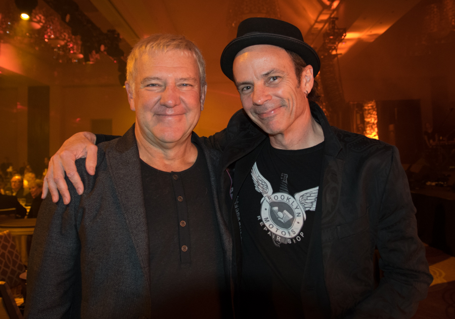CMW 2017 - Canadian Music Week 2017 - CMBIA - Canadian Music and Broadcast Awards - Alex Lifeson and Andy Curran