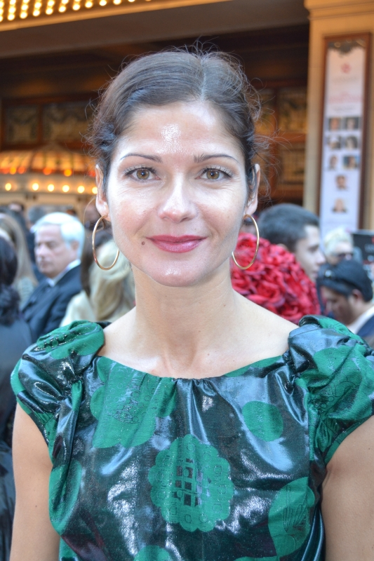 2011 CWOF Canada Walk Of Fame Red Carpet - Jill Hennessy