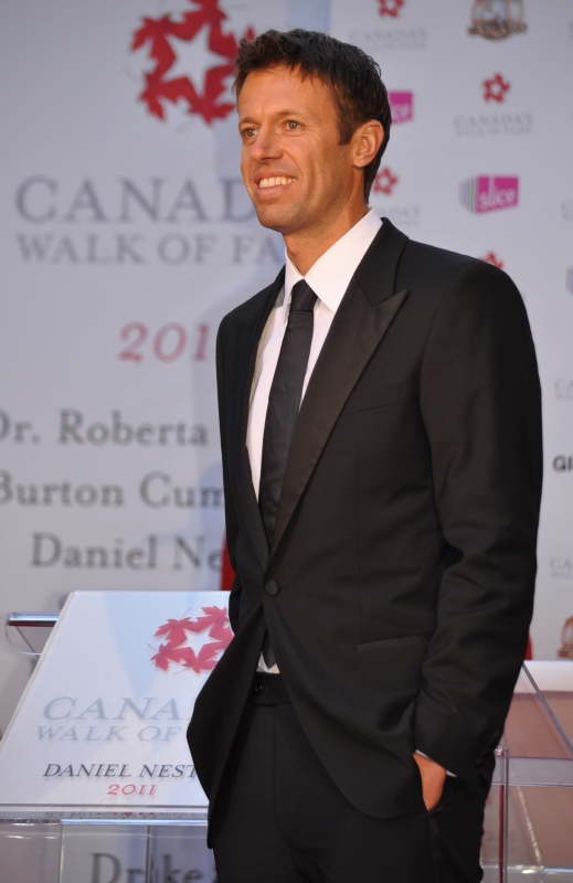 2011 CWOF Canada Walk Of Fame Red Carpet - Daniel Nestor