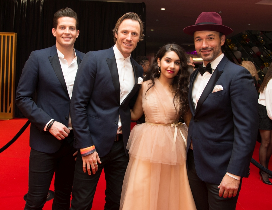 2019 CWOF Canada Walk Of Fame - The Tenors and Alessia Cara