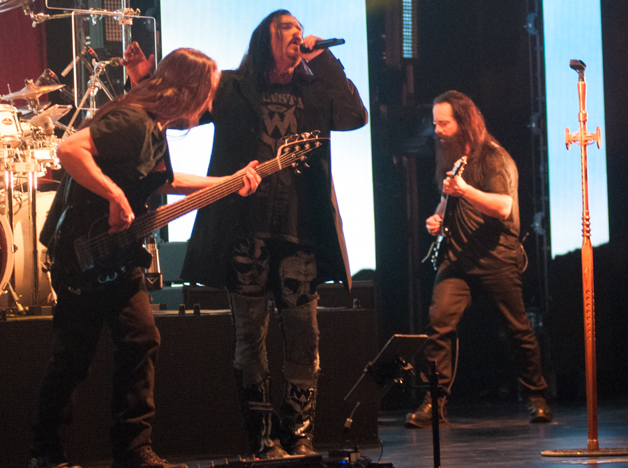 DREAM THEATER - ASTONISHING - APRIL 16, 2016 at SONY CENTRE FOR THE PERFORMING ARTS - John Myung, James LaBrie and John Petrucci
