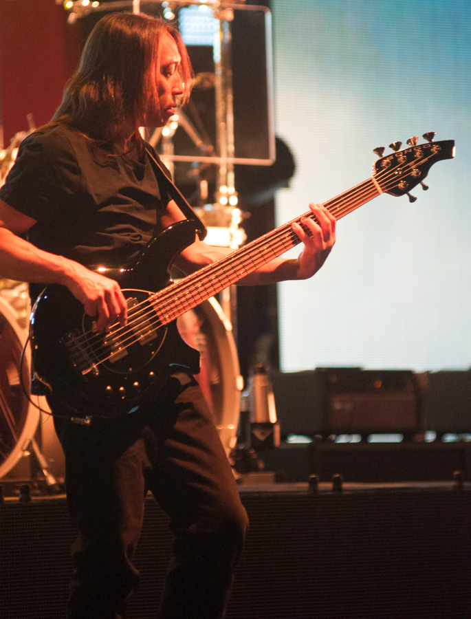 DREAM THEATER - ASTONISHING - APRIL 16, 2016 at SONY CENTRE FOR THE PERFORMING ARTS - John Myung