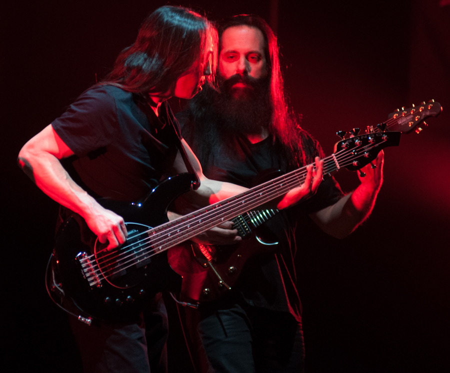 DREAM THEATER - ASTONISHING - APRIL 16, 2016 at SONY CENTRE FOR THE PERFORMING ARTS - John Myung and John Petrucci