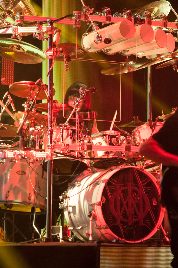 DREAM THEATER - ASTONISHING - APRIL 16, 2016 at SONY CENTRE FOR THE PERFORMING ARTS - Mike Mangini