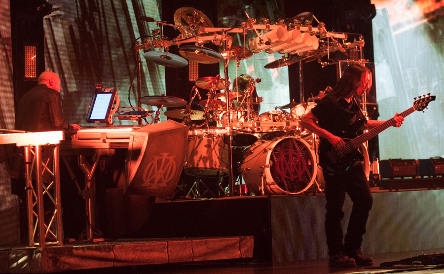 DREAM THEATER - ASTONISHING - APRIL 16, 2016 at SONY CENTRE FOR THE PERFORMING ARTS - Jordon Rudess, Mike Mangini, and John Myung