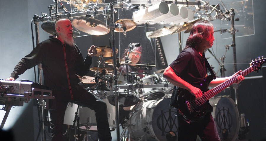 DREAM THEATER - IMAGES WORDS AND BEYOND - NOVEMBER 12th, 2017 at SONY CENTRE FOR THE PERFORMING ARTS - Jordan Rudess, Mike Mangini, John Myung