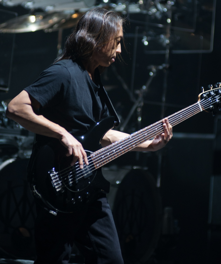 DREAM THEATER - IMAGES WORDS AND BEYOND - NOVEMBER 12th, 2017 at SONY CENTRE FOR THE PERFORMING ARTS - John Myung