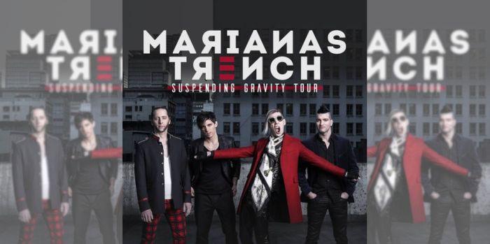 Marianas Trench, Suspending Gravity Tour, Windsor, Barrie, Kitchener, Oshawa, Hamilton, Toronto, St. Catharines, Ottawa, Montreal, Sudbury, Winnipeg, Regina, Calgary, Edmonton, Vancouver