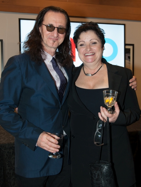 Geddy and Pegi at the 2015 JUNO Awards