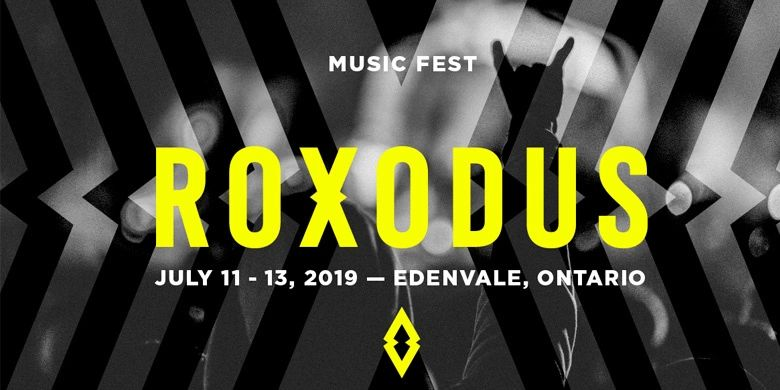 2019 Roxodus Music Fest, Edenvale, Ontario, July 11-14, 2019, Saga, Streetheart, Blondie, Nickelback, Headstones, Alice Cooper, Kid Rock, Billy Idol, Cheap Trick, Peter Frampton, Lee Aaron, Big Wreck, Orianthi, Aerosmith, Theory of a Deadman, The Trews, Matthew Good, I Mother Earth