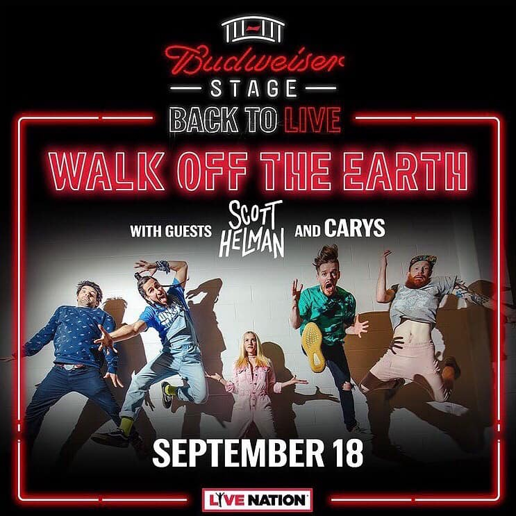 Walk Off The Earth - WOTE - Budweiser Stage - September 18 - Toronto