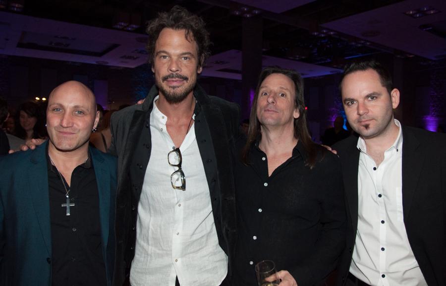 2015 Juno Awards - Big Wreck, Paulo Neta, Ian Thornley, Brain Doherty, Chuck Keeping