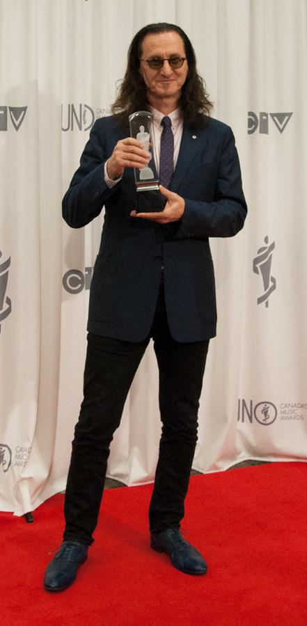 2015 Juno Awards - Geddy Lee