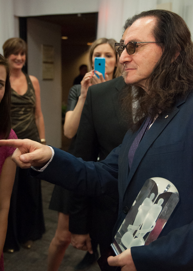 Geddy Lee 2015 Juno Awards - Happy Birthday Geddy
