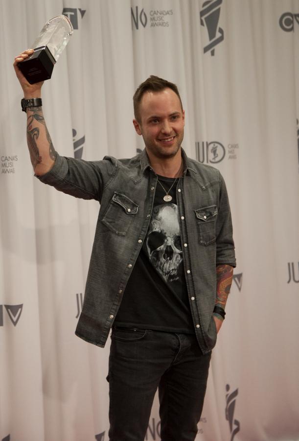 2015 Juno Awards - Dallas Smith