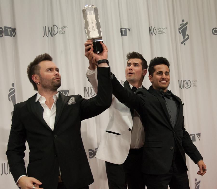 2015 Juno Awards - Manic Drive