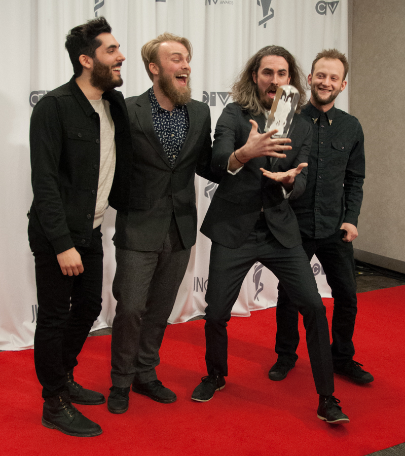 2015 Juno Awards - The Brothers Landreth