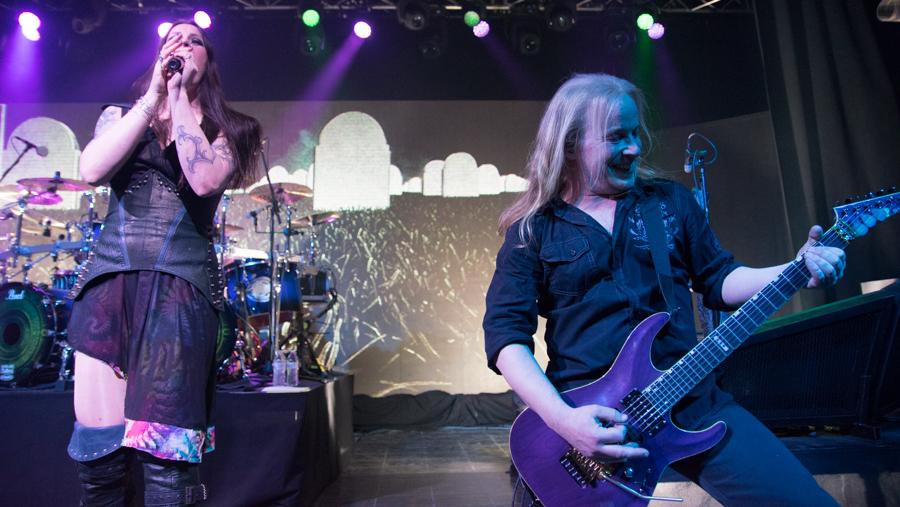 Floor Jansen, Emppu Vuorinen - Nightwish - Decades Tour - Rapids Theater, Niagara Falls, NY - 23-Mar-2018