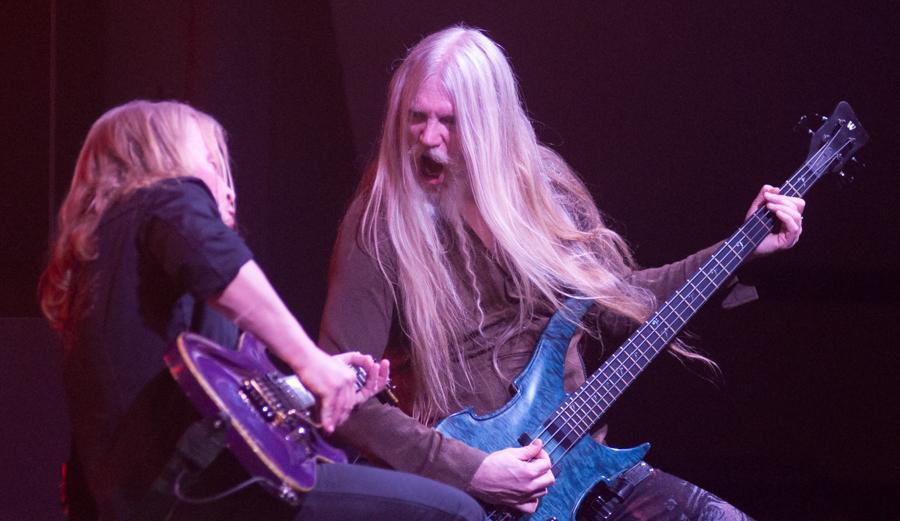 Emppu Vuorinen, Marco Hietala - Nightwish - Decades Tour - Rapids Theater, Niagara Falls, NY - 23-Mar-2018