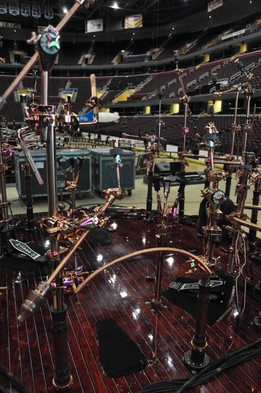 RUSH Time Machine Tour - Neil's Drum Kit Electronic Kit Stands