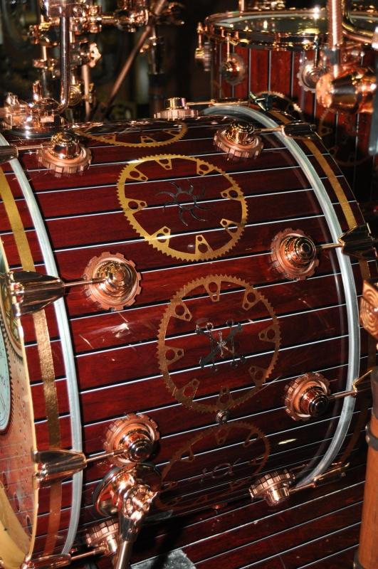 RUSH Time Machine Tour - Neil's Drum Kit Kick Drum Close Up