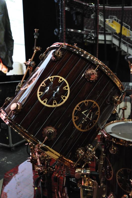 RUSH Time Machine Tour - Neil's Drum Kit Floor Toms Right