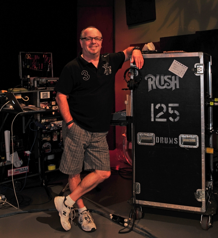 RUSH Time Machine Tour - Lorne Wheaton - Gump
