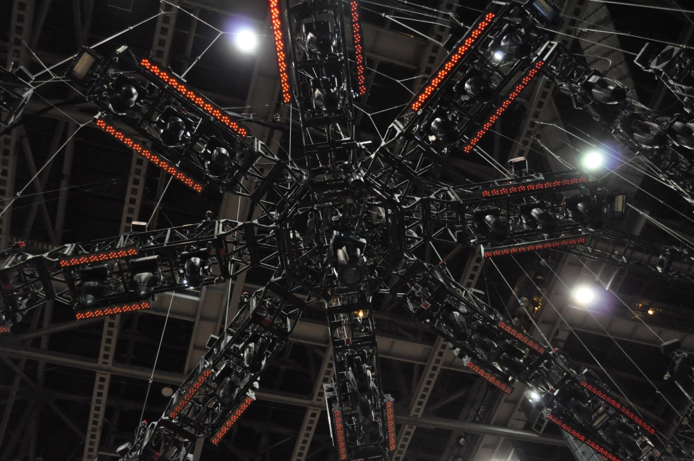 RUSH Time Machine Tour - Neil's view of the spider