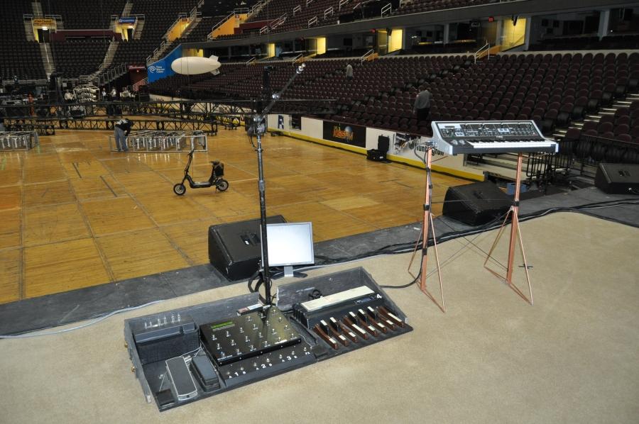 RUSH Time Machine Tour - Alex's On Stage Area