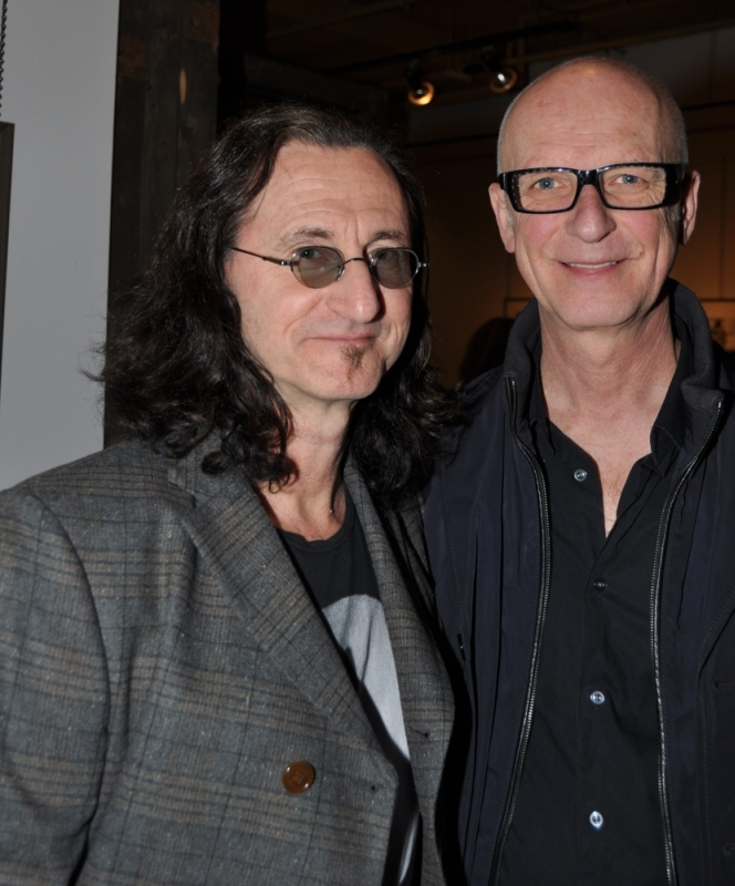 Grace Africa in Photographs - Andrew MacNaughtan - Geddy Lee and Kim Mitchell