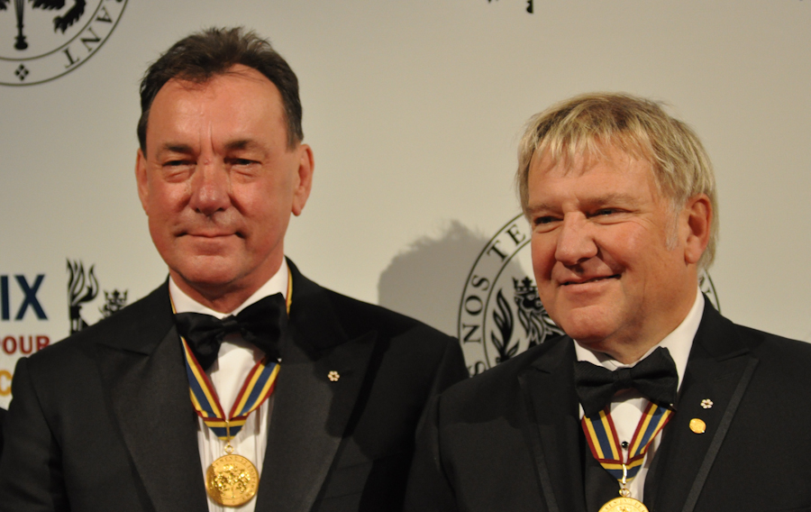 2012 Governor General Performing Arts Awards National Arts Centre - RUSH Neil Peart, Alex Lifeson