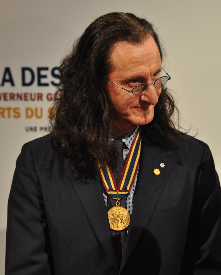 2012 Governor General Performing Arts Awards National Arts Centre - RUSH Geddy Lee