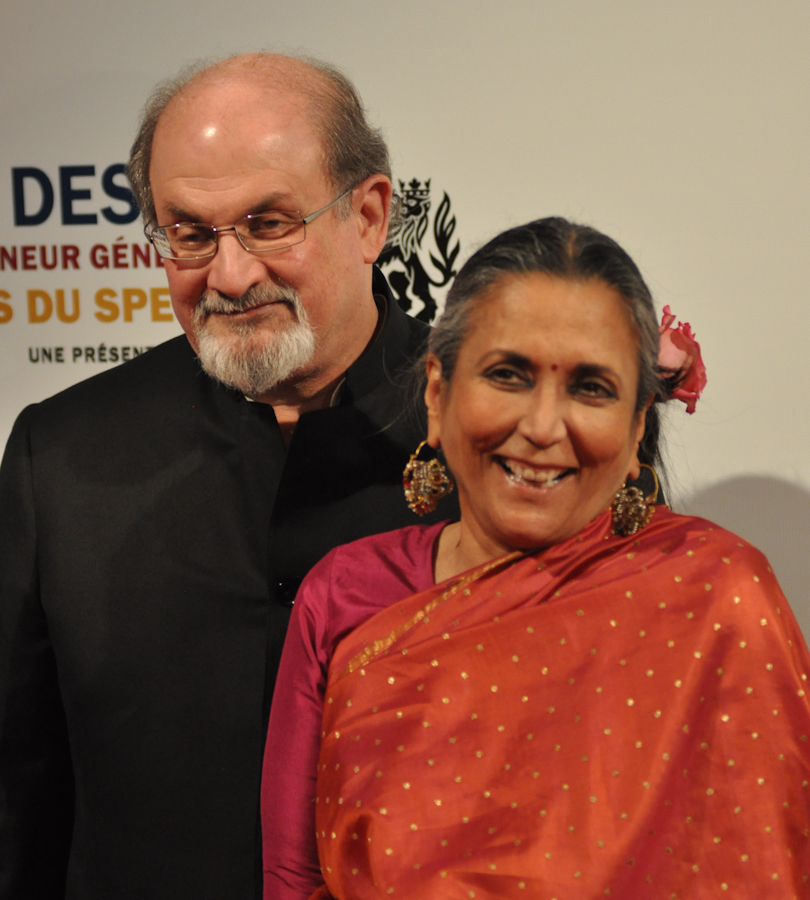 2012 Governor General Performing Arts Awards National Arts Centre - Salman Rushdie with Deepa Mehta