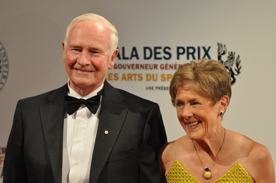 2012 Governor General Performing Arts Awards National Arts Centre - The Right Honourable David Johnston and Mrs. Sharon Johnston