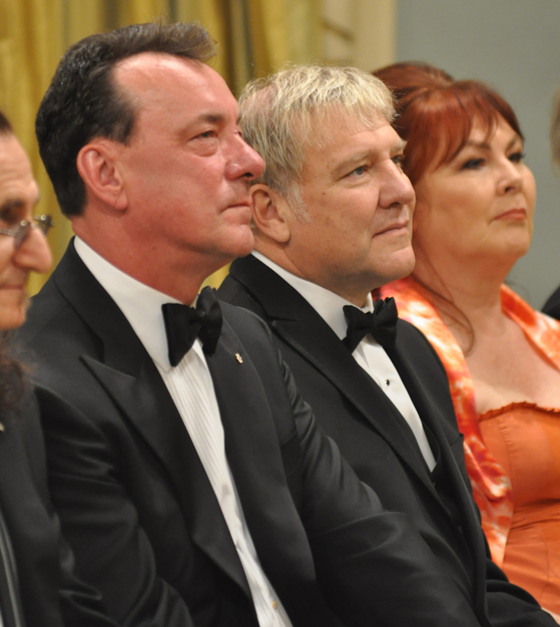 2012 Governor General Performing Arts Awards - RUSH Neil Peart, Alex Lifeson