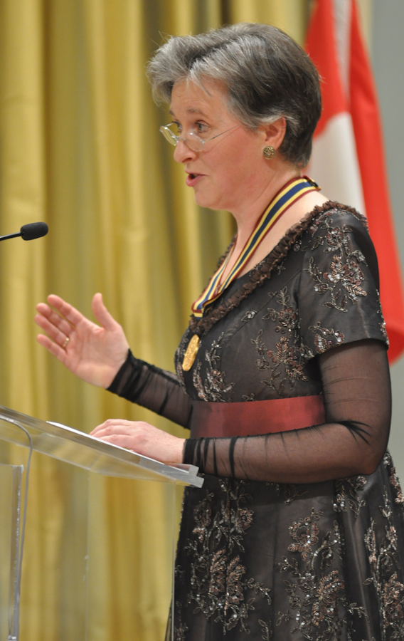 2012 Governor General Performing Arts Awards - Janina Fialkowska