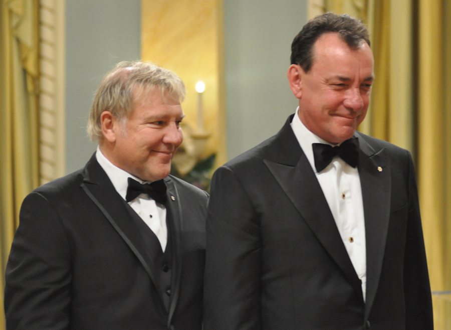 2012 Governor General Performing Arts Awards - RUSH Alex Lifeson, Neil Peart