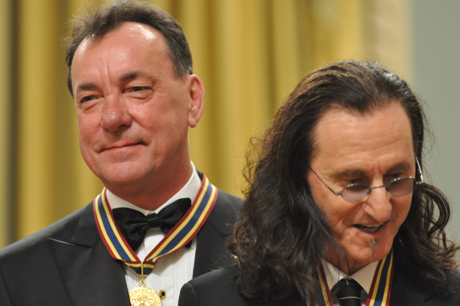 2012 Governor General Performing Arts Awards - RUSH Neil Peart, Geddy Lee