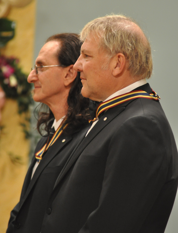 2012 Governor General Performing Arts Awards - RUSH Alex Lifeson, Geddy Lee