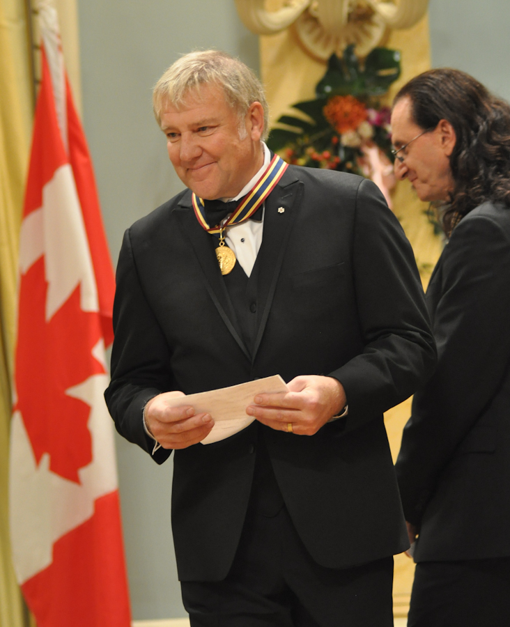 2012 Governor General Performing Arts Awards - RUSH Alex Lifeson
