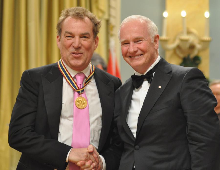 2012 Governor General Performing Arts Awards - Des McAnuff with Governor General David Johnston