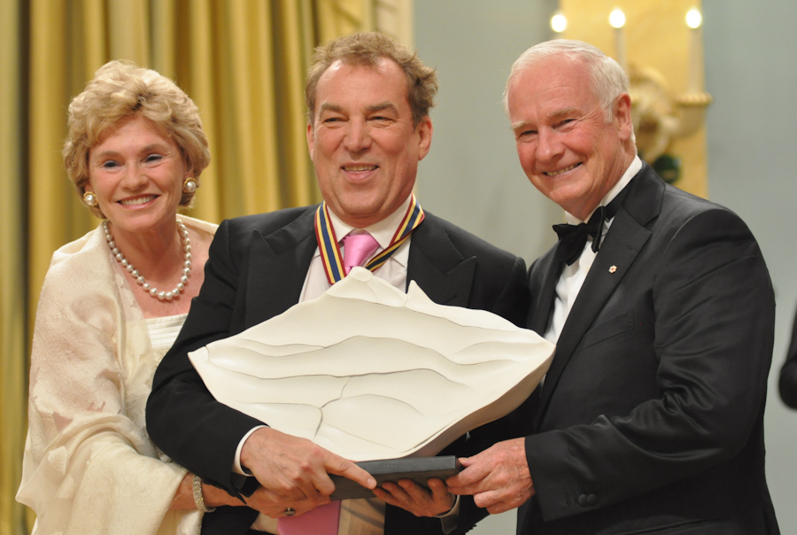2012 Governor General Performing Arts Awards - Des McAnuff with Governor General David Johnston