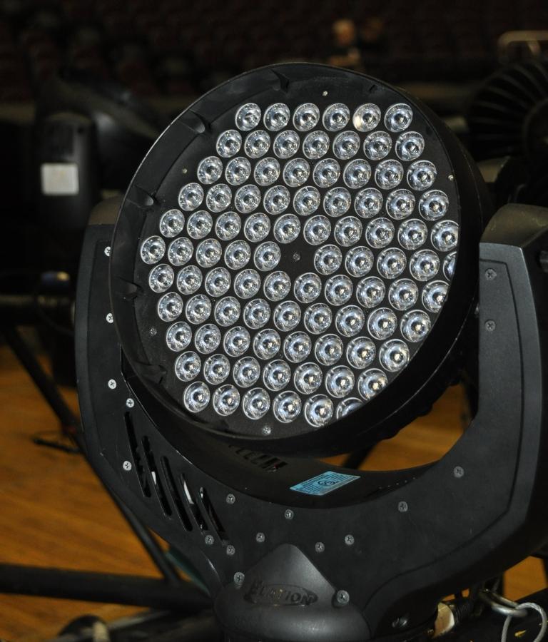 RUSH Time Machine Tour - Howard Ungerleider: Closeup Elation Impression Fixture