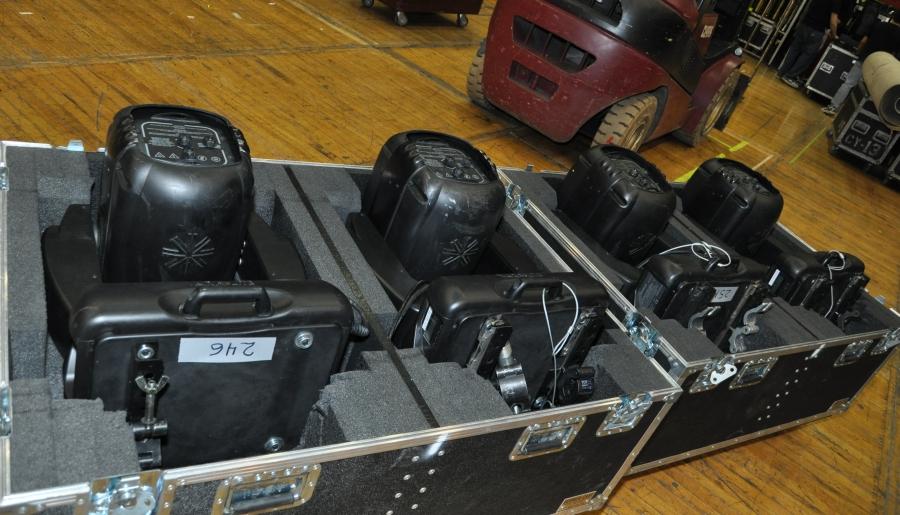RUSH Time Machine Tour - Howard Ungerleider: Lighting Fixtures Power Boards