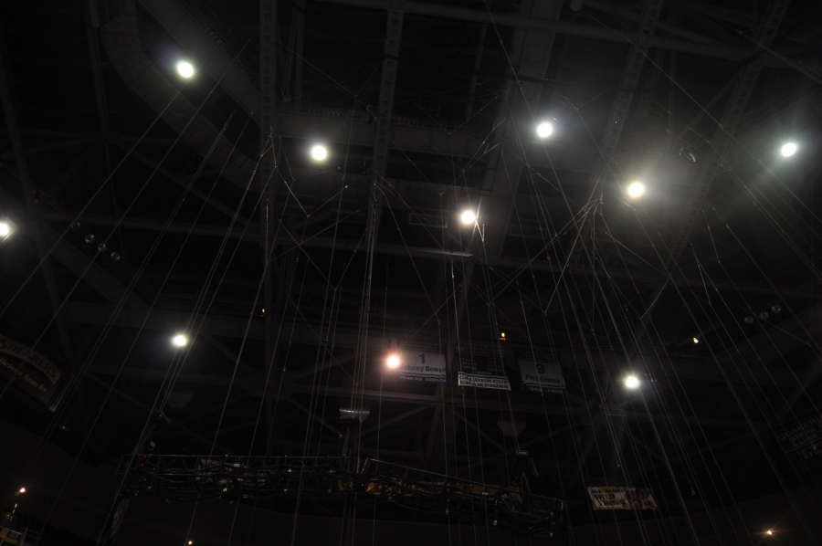 RUSH Time Machine Tour - Howard Ungerleider: Rigging for the Lighting Structures