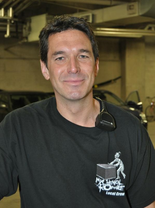 RUSH Time Machine Tour - John Arrowsmith Pyro Technician