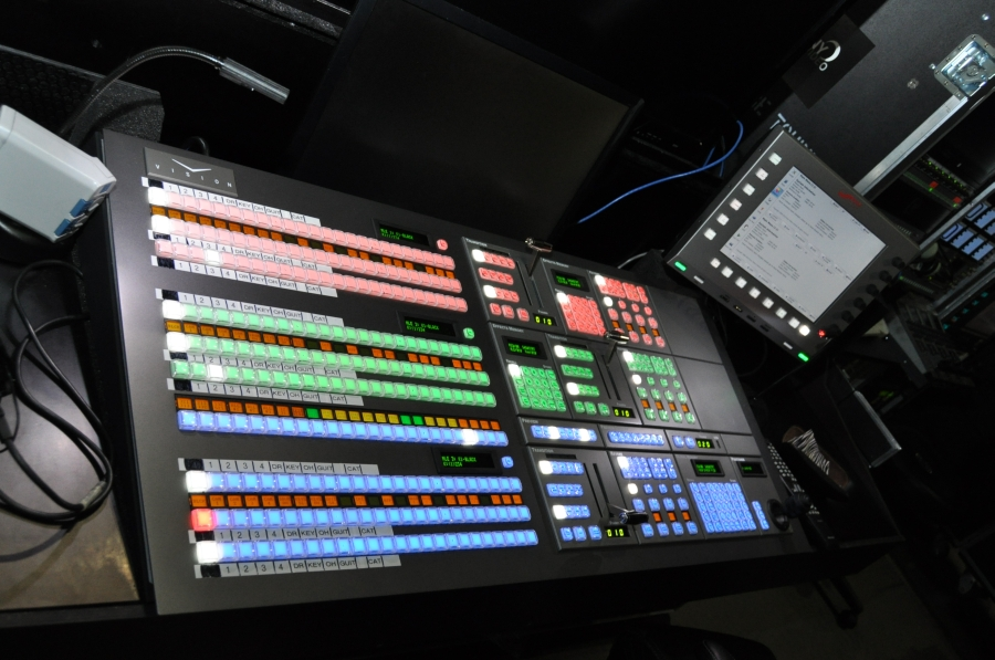 RUSH Time Machine Tour - Vision Video Monitor and Control Board
