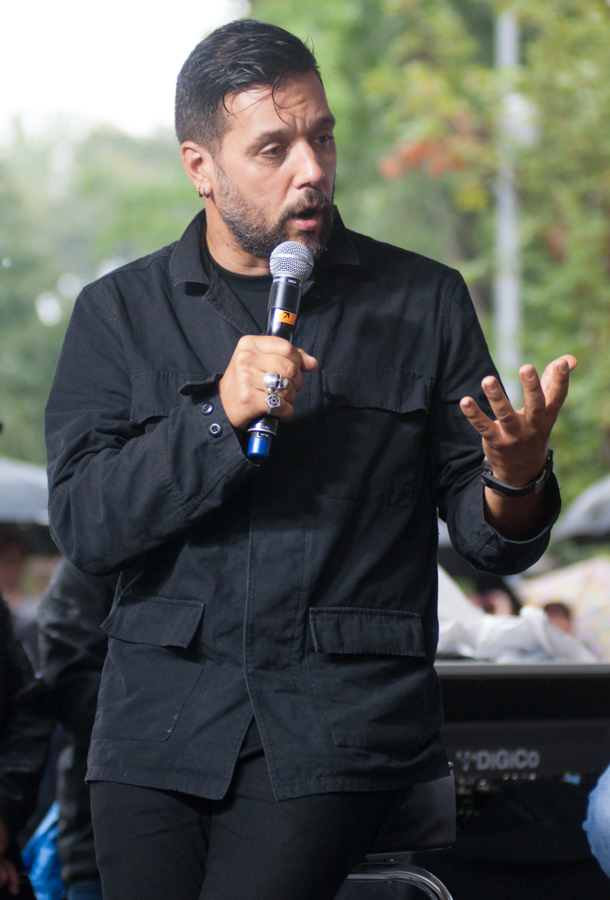 Lee Lifeson Art Park - George Stroumboulopoulos